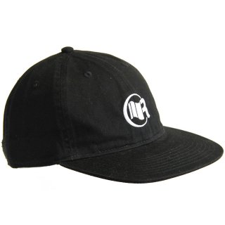6PANEL FLAT CAP BLACK