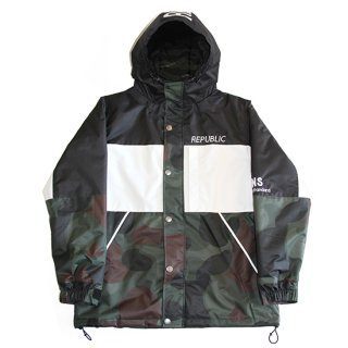 NAUGHTY MOUNTAIN JACKET CAMO