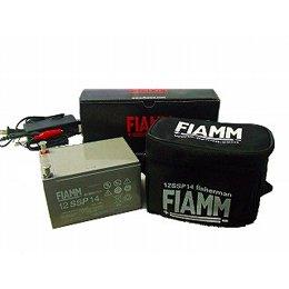【新品 格安 高品質 低コスト】 電動リール用フィッシングバッテリー FIAMM 【12SSP14】