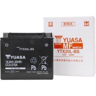 【新品保証付&激安】台湾ユアサ バイクバッテリー(液別密閉) TYTX20L-BS