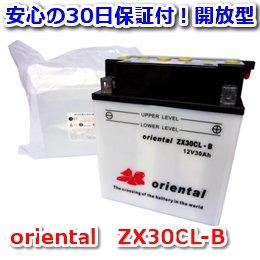 【新品 格安 高品質 低コスト】 水上バイク用バッテリー oriental ZX30CL-B