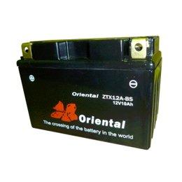 【新品 格安 高品質】 バイク用バッテリー oriental ZTX12A-BS(完全密閉)