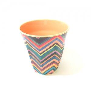 rice メラミンカップ ジグザグ