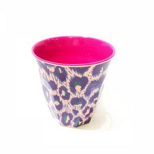 rice メラミンカップ レオパード
