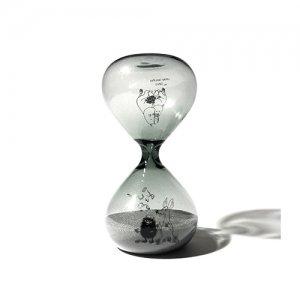 ムーミン 砂時計 M グレー