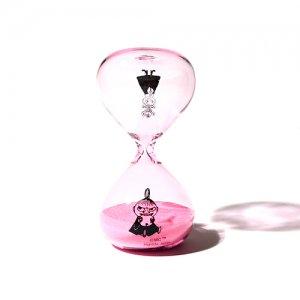 ムーミン 砂時計 M ピンク