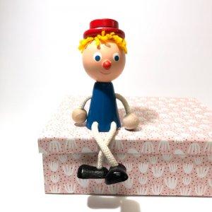 チェコの木の人形カラー 少年
