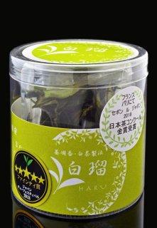 【Single Origin Tea】狭山弱醗酵茶 白瑠(はる)【3gx2袋 アクリルケース】