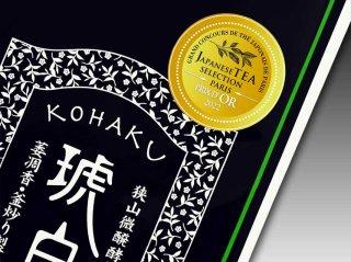 狭山微醗酵茶 琥白 Platinum みなみさやか【21gアルミパック】