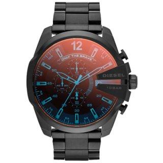 9bb09ecc8b 正規品 DIESEL ディーゼル MEGA CHIEF メガチーフ 時計 メンズ DZ4318 ブラック ステンレス クロノグラフ  価格:26,900円(内税)