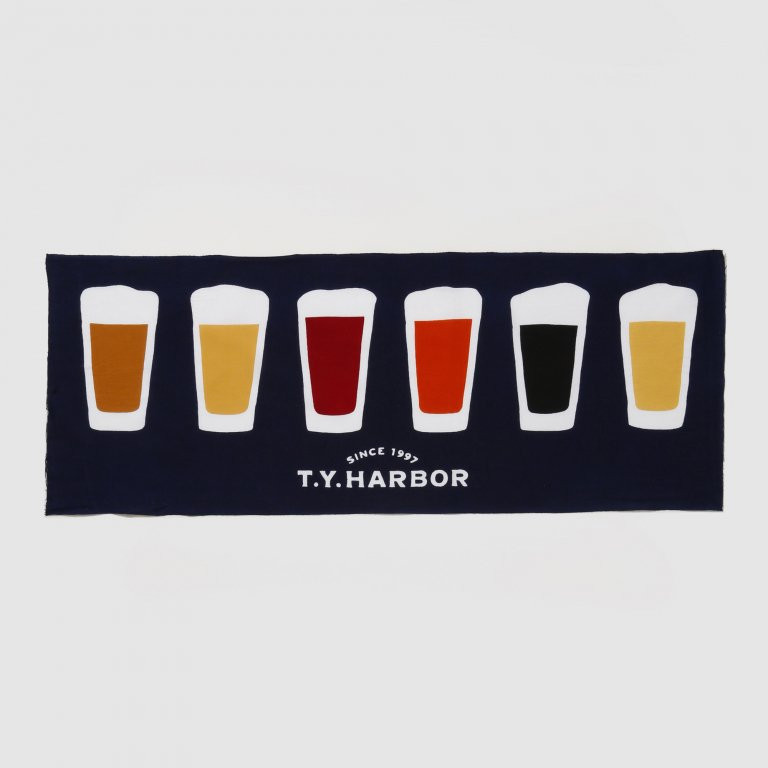 T.Y.HARBOR BREWERY てぬぐい -日本製-