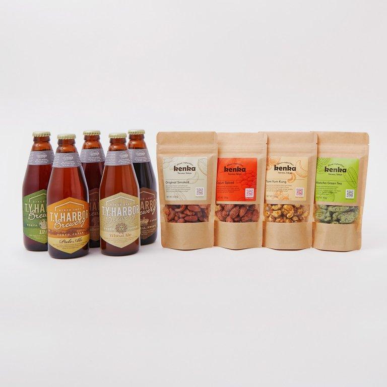 定番クラフトビール5本セット+ kenka4種(各種100G×4)