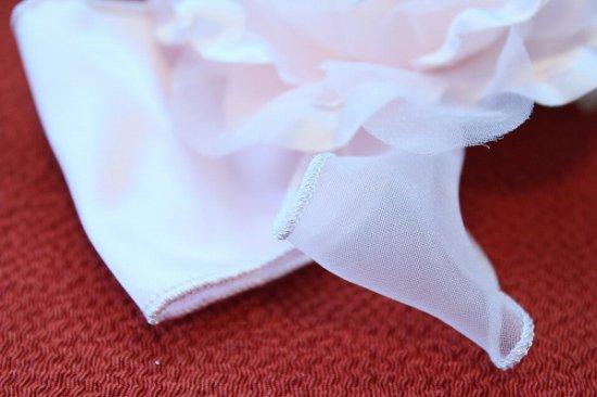 【浴衣 髪飾り】リボンとバラの コンビネーション ヘアクリップ【画像7】