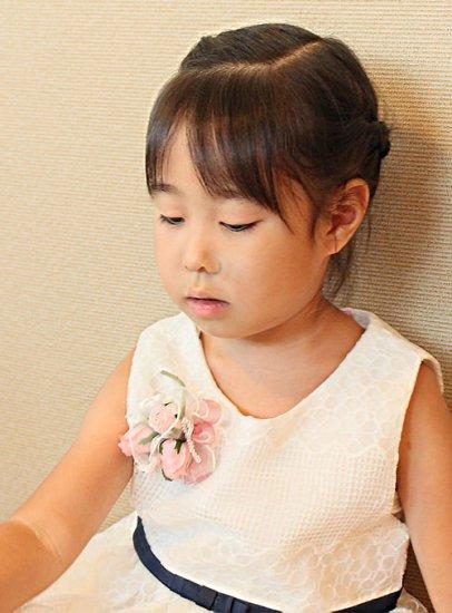 【ミニコサージュ】 ミニバラ ブーケのコサージュ【画像2】