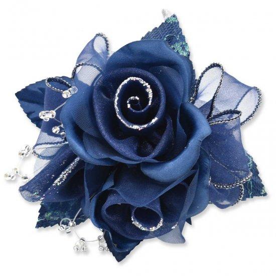 【一番人気】上品巻バラのコサージュ クリップ 付き【画像34】