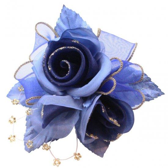 【一番人気】上品巻バラのコサージュ クリップ 付き【画像35】