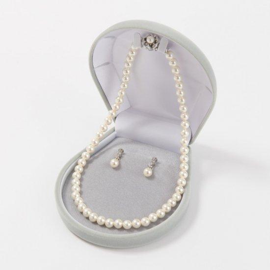【組み合わせ購入専用商品】貝パール | パール ネックレス イヤリング ホワイト 8ミリ珠 2点セット【画像5】