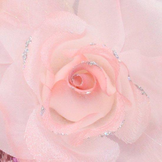 ピンク バラ 一輪 コサージュ ケース付き【画像8】