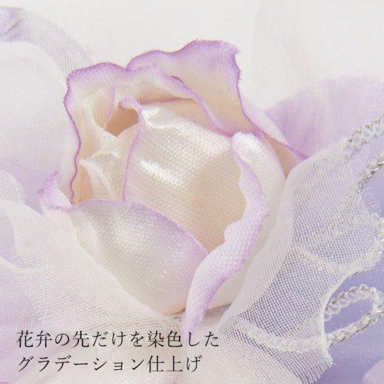 キッズ 小さな バラ の フォーマルコサージュ ケース付き【画像7】
