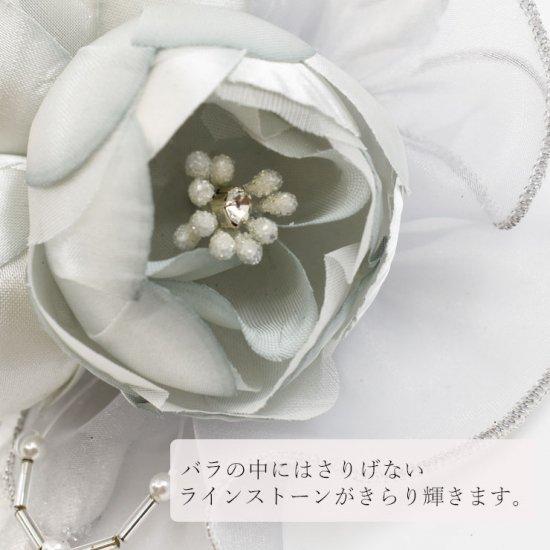 ころころ 丸バラ フォーマル コサージュ コサージュケース付き【画像6】