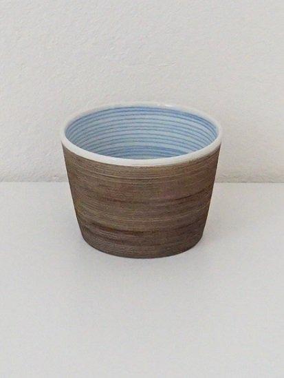 [宝山窯]青彩カップ吉紋 小