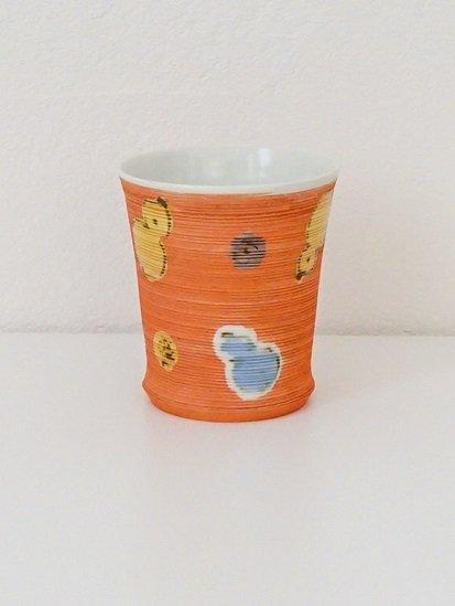 [宝山窯]六瓢赤巻カップ 大
