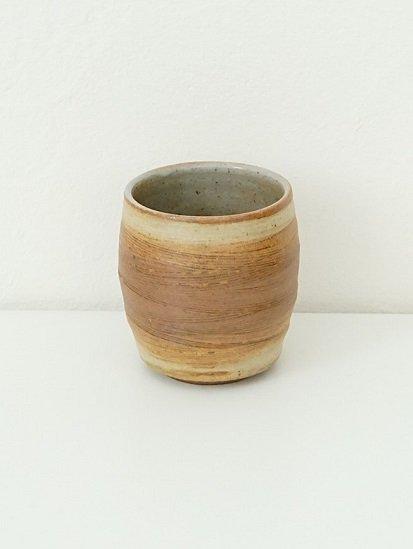 [別所窯]灰釉塗分けフリーカップ