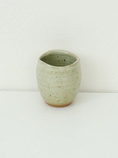 [別所窯]藁灰釉フリーカップ