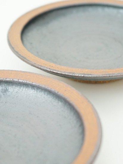 [別所窯]黒釉小皿