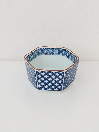 [喜山窯]祥端六角小鉢