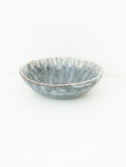 [玉山窯]菊型楕円小鉢