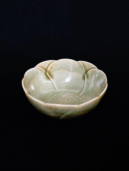 [竹内玄太郎]灰釉梅鉢