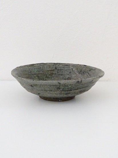 [田鶴濱守人]サメハダ釉6寸浅鉢