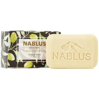 ナーブルスソープ [ ナチュラルオリーブオイル / Natural Olive Oil ] 完全無添加 オーガニック石鹸 洗顔ボディー石鹸(肌の保湿環境を整える)