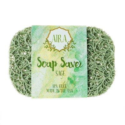 【アイラ AIRA】ナチュラルソープディッシュ トウモロコシと大豆由来の石鹸置き(ナチュラルグリーン)
