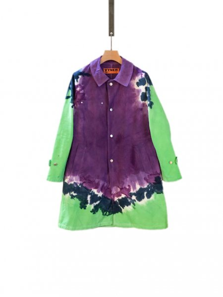 <img class='new_mark_img1' src='//img.shop-pro.jp/img/new/icons23.gif' style='border:none;display:inline;margin:0px;padding:0px;width:auto;' />Worker Coat - Tie Dye