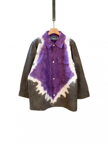 <img class='new_mark_img1' src='//img.shop-pro.jp/img/new/icons23.gif' style='border:none;display:inline;margin:0px;padding:0px;width:auto;' />Worker Jacket - Tie Dye