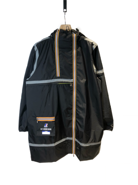 Kway Multi Pocket Taped Raincoat
