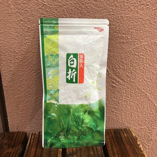 抹茶入り白折茶
