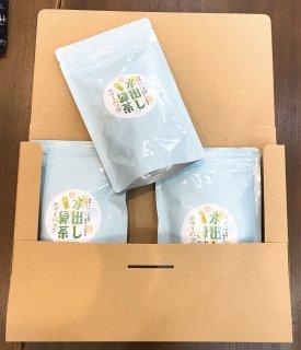 【送料無料】水出し緑茶ティーバッグ3袋