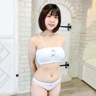 【オリジナル】 綿素材キャミトップ&インゴムショーツセット