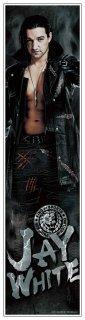 新日本プロレス ジェイ・ホワイト 等身大フィルムポスター 《身長186cmを再現の大迫力!》《フィルム素材だからずっと綺麗なまま貼れる!》