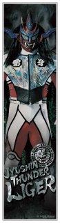 新日本プロレス 獣神サンダー・ライガー 等身大フィルムポスター 《身長170cmを再現の大迫力!》《フィルム素材だからずっと綺麗なまま貼れる!》