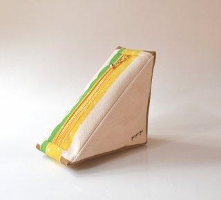 pu・pu・pu 三角のサンドイッチポーチ タマゴサンド