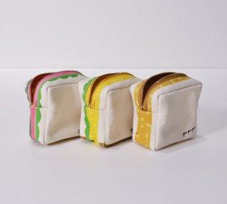 pu・pu・pu ひとくちのサンドイッチポーチ ハムサンド/タマゴサンゴ/ピーナッツサンド