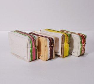 pu・pu・pu 四角のサンドイッチポーチ 4種