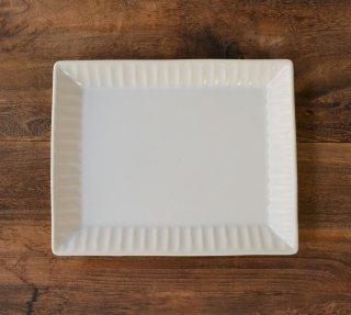 Lineライン トーストプレート ホワイト