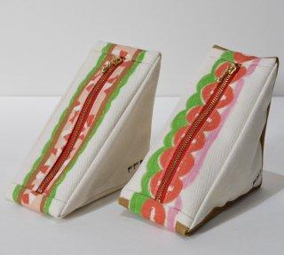 pu・pu・pu 三角のサンドイッチポーチ エビカツサンド/BLTサンド