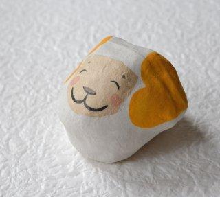 蔵六面工房 干支まめ人形 羊(ひつじ)