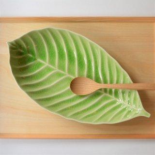 Leaf リーフボウル グリーン LL